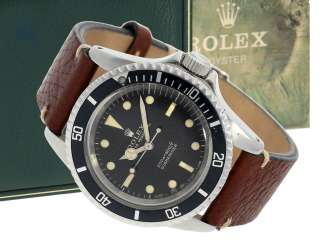 Watch: early Rolex Submariner