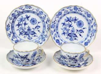 Meissen, 2 Coffee Settings *Vine Leaves*
