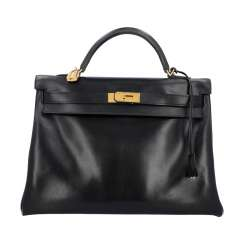 "HERMÈS handle bag ""KELLY BAG 40"", collection: 2011."
