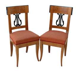 Pair Of Biedermeier Chairs