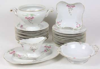 Art Nouveau dinner service, around 1900