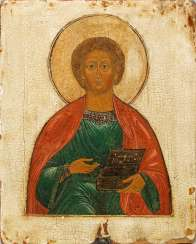 Icon of the Saint. Panteleimon