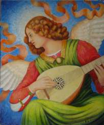 The angel-musician