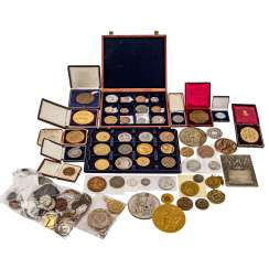 Interesting medals, mostly 19. Century theme to assign