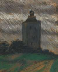 ENGEL, Otto Heinrich: the lighthouse on the Ne