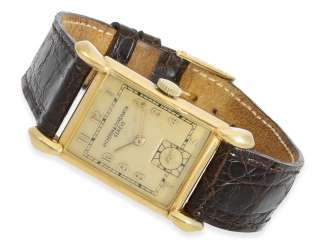 Watch: extremely rare Vacheron & Constantin men's watch with special lugs, CA. 1951