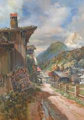 Schörnick, Paul: the village in the Alpine country.