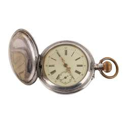 Silver Pocket Watch 19th Century. Century from the estate
