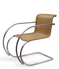 Cantilever chair MR 20. Mies van der Rohe, 1927 to 1930, the execution of the Berlin metal industry, Joseph Müller, Berlin