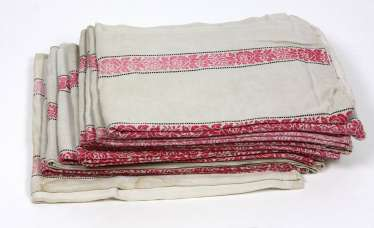 Items of linen around 1920