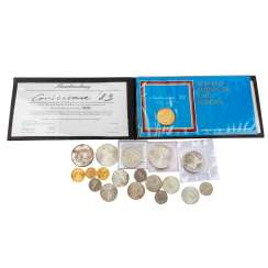 Coins and medals in GOLD and SILVER with