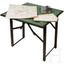 Gen. d. Inf. Helmut Thumm - field-map-table and a dedication book