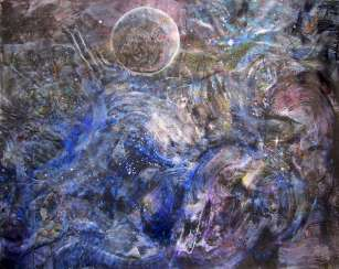 One Planet Coalition, abstract painting, a Coalition of