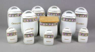 Set Of Spice Containers