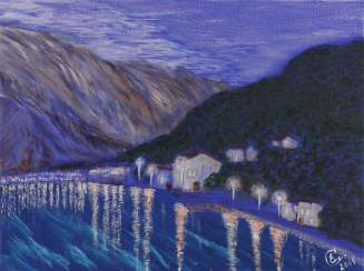 "Serie ""Stoliv's Lights"", ""Landscapes of Montenegro"""
