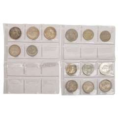 DDR - lot of 14 coins,