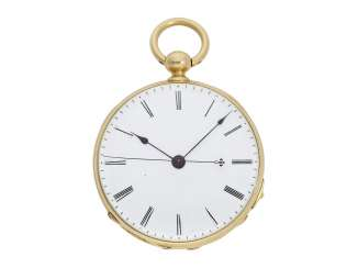 Pocket watch: fine Lepine with Seconde Morte, DuBois & Fils Geneve No. 11311, CA. 1850