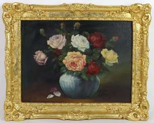 Bouquet of roses - unknown artist