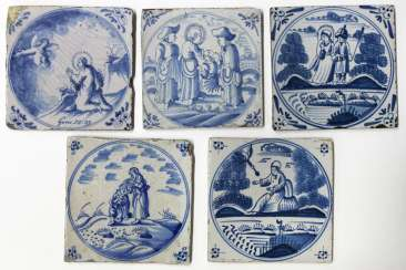 10 with tiles of Delft