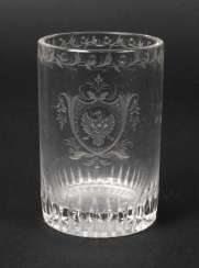Baroque-Style Drinking Glass