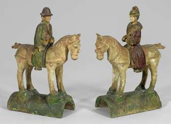 Few roof riders from the Ming dynasty