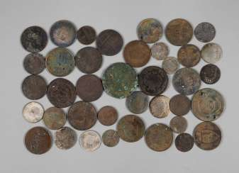 Collection Of Small Coins 18./19. Century