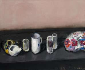 Untitled (still life with glasses)