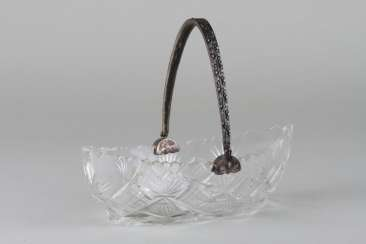 Crystal boat with flip-handle, 5 Gang.