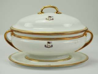 Prussia: Imperial Yacht Irene: food service gravy boat from the officer's mess.