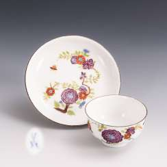 Coupling with kakiemon painting