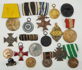 German Empire: Lot of awards.