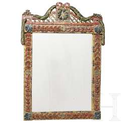 Classicist mirror, South German, late 18th century
