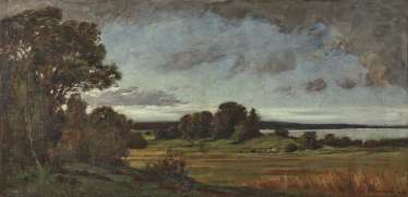 Fritz Bayerlein - View of the Main Loop with Vogelsburg Monastery