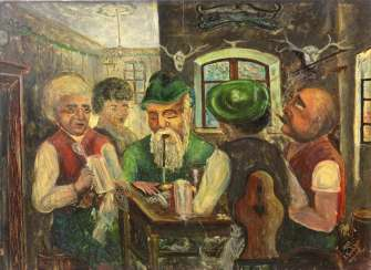 Card Player - Trenkler, Karl 1923