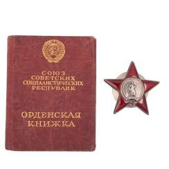 Order of the red star, type 6