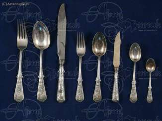 Cutlery set for 6 people