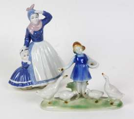 2 Porcelain Figurines