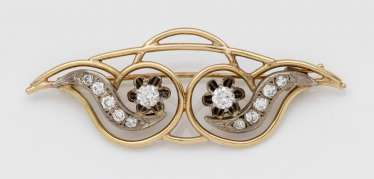 Brilliant brooch from the 50s