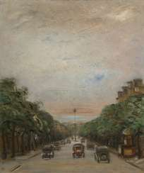 REDKO, KLIMENT (1897-1956) Paris Avenue , signed and dated 1930.