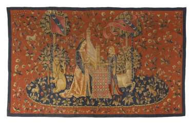 Tapestry, according to the model of