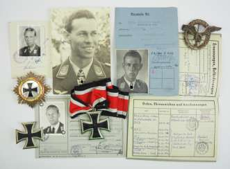 The estate of a Colonel in the air force Barth - bearer of the knight's cross of the Iron cross.