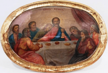 The last supper of the XIX-th century