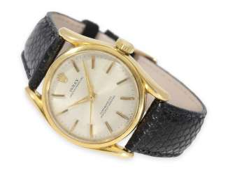 Watch: gold Rolex Chronometer Ref. 6090 of 1952, the so-called