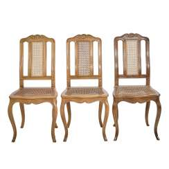 THREE CHAIRS IN THE BAROQUE STYLE