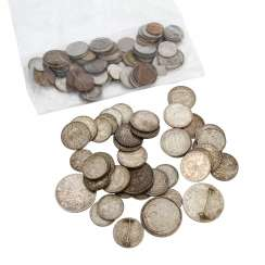 Dt. Empire/third Reich - mixed lot of various coins,