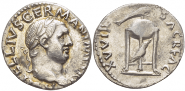 ROMAN EMPIRE DENARIUS VITELLIUS 69