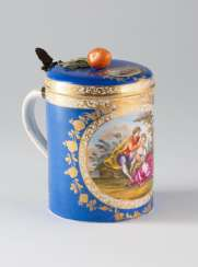 Jug with lid according to Meissner type to 1750.