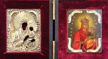 "The icon of the mother of God ""surety of sinners"".St. Petersburg, 1860."
