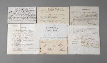 Collection of historical documents with Littau (Switzerland)
