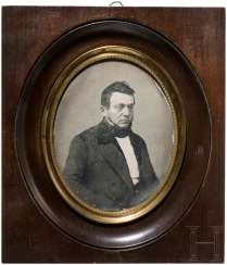 Great daguerreotype by Victor Plumier, France, around 1850